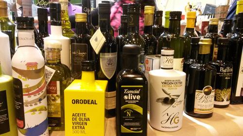 Selección de aceite de oliva virgen extra españoles