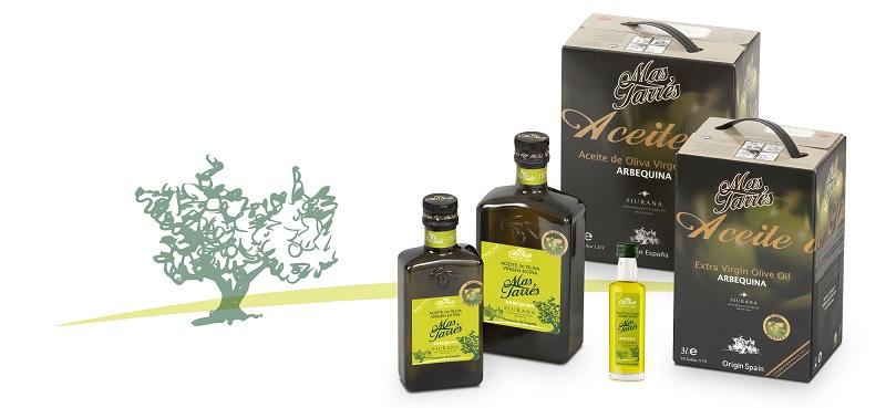 aceite oliva mas tarres siurana arbequina